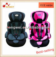 universal type baby car seat with ECER44/04 certificate