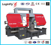 Good price LoginFly Brand Horizontal 550mm High Quality band saw metal cutting machine