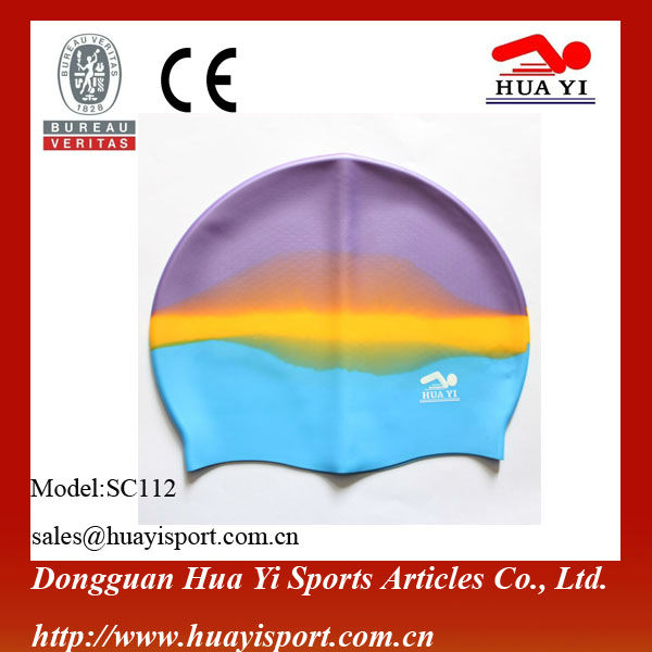 Wear racingadult new american flag college rainbow eco-friendly funny blue rubber pool do new silicone swim caps