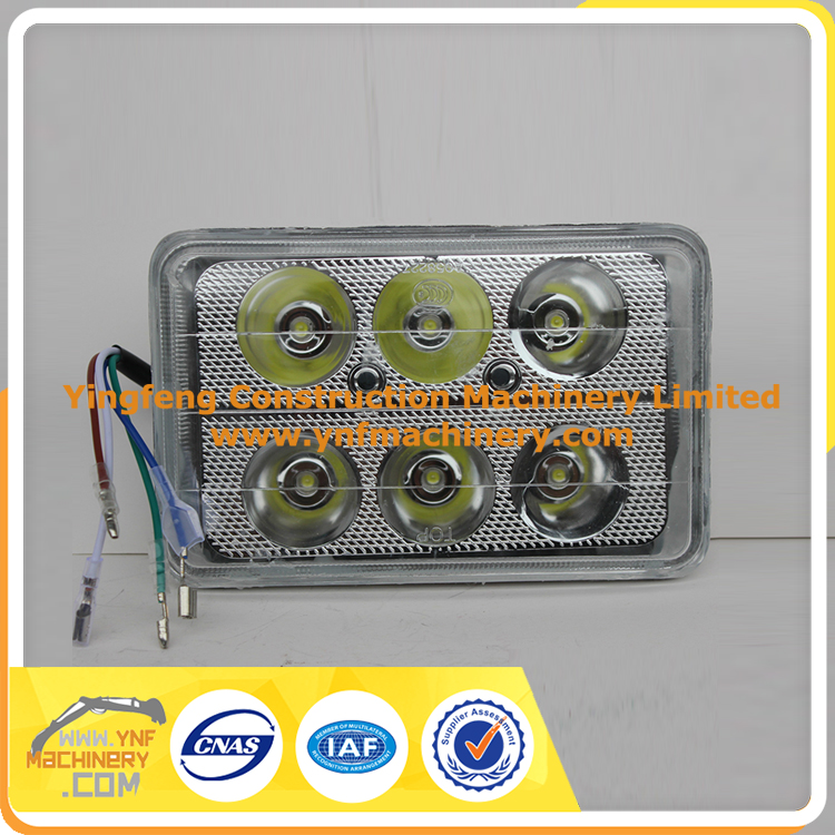 Auto led work lamp 30w 5 inch led driving light square led ceiling light