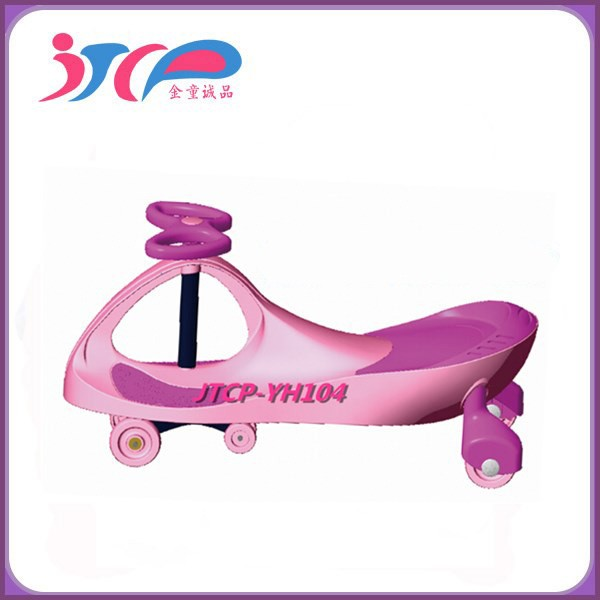 High quality PP Plastic with CE-Certification approved ride on car for kids baby swing car