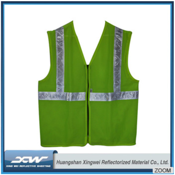 2017 100% Polyester China Alibaba Auto reflective vest for biking adult