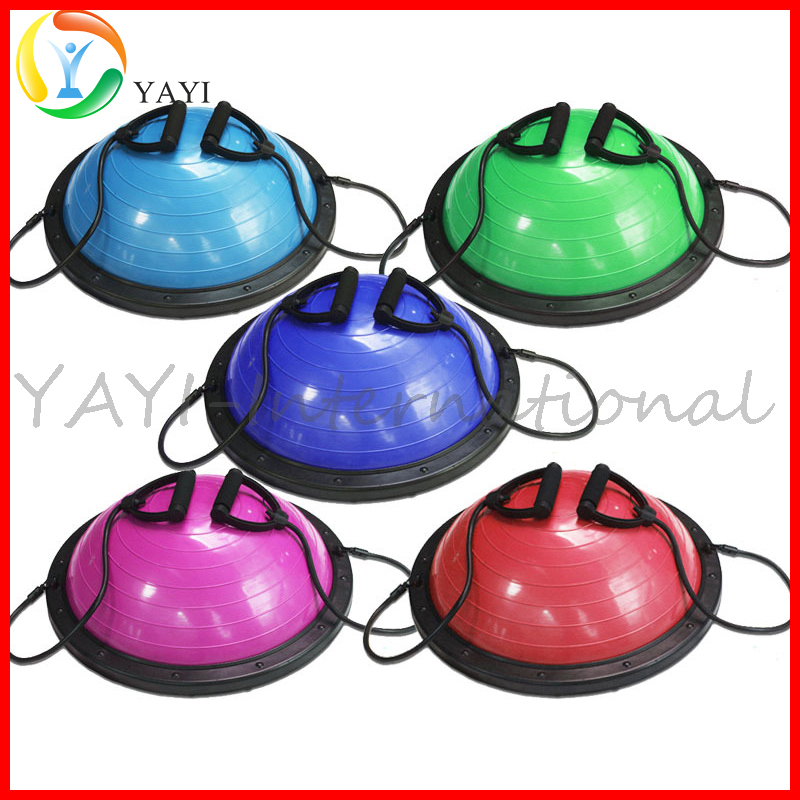Yoga Fitness Strength Exercise Half Bosu Ball Custom Yoga Ball