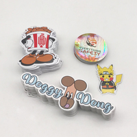 Custom Die Cut Vinyl Stickers Printing, Adhesive Waterproof PVC Label Company Logo Design Cartoon Stickers