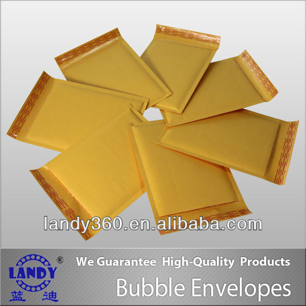 Customized Design Color custom yellow bubble envelope