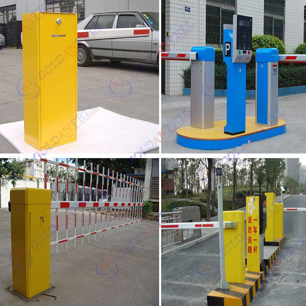 Goldantell high quality durable waterproof oem parking barrier