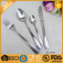 Regular stainless steel custom wedding top choice dinnerware