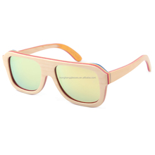 2017 fashion wood polarized sun glasses eyewear China wholesale bamboo wooden sunglasses