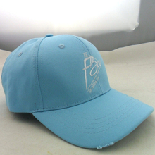 Short Brim Baseball Cap For Mens Baseball Cap Custom Embroidery Logo