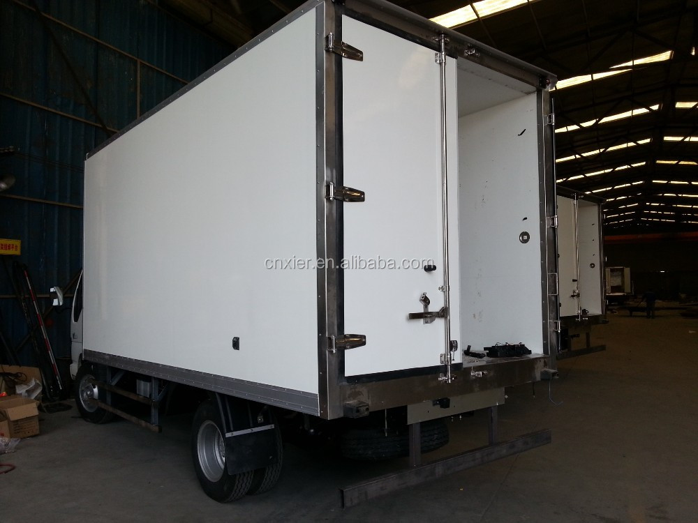 HYUNDAI /Refrigerated cargo box/van truck body for fish