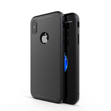 New 4 in 1 injection technology business Simple phone case with All-Dimensional protective for iPhone 8