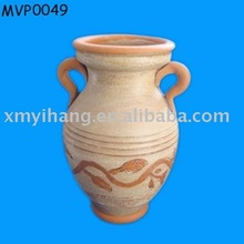 decorative clay amphorae pottery