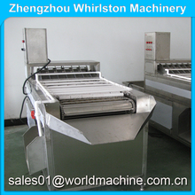 (Wechat: hnlily07) Manufacturer supply chicken egg peeler/ chicken eggs peeling machine/hard boiled egg peeling machine