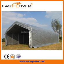 18'Wx39'L household easy assembly temporary outdoor canopy metal roof