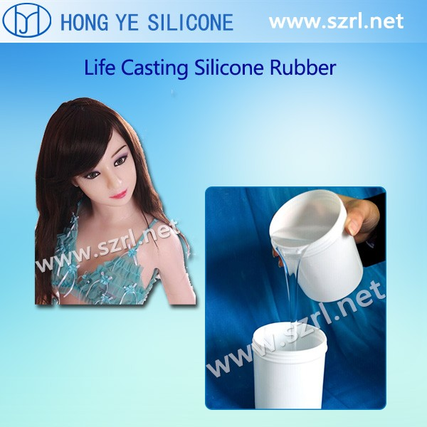 Liquid Silicone for Sex Toy and Liquid Silicone for Sex Doll