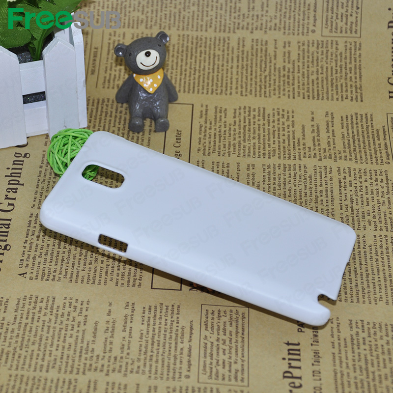 Plastic blank 2D 3D bulk phone cover sublimation case for samsung galaxy note 3 9006