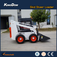 800kg Bobcat wheel skid steer loader with CE in stock