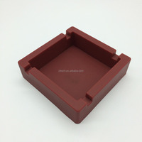 Best Selling Promotional Plastic Rubber Ashtray fit for Home /Office/hotel /restaurant/KTV/Bar