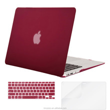 Mosiso Soft-Touch Plastic See Through Hard Shell Snap On Case Cover for Laptop