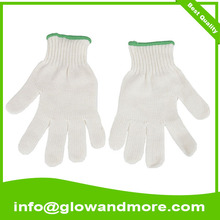 Professional high quality white cotton glove