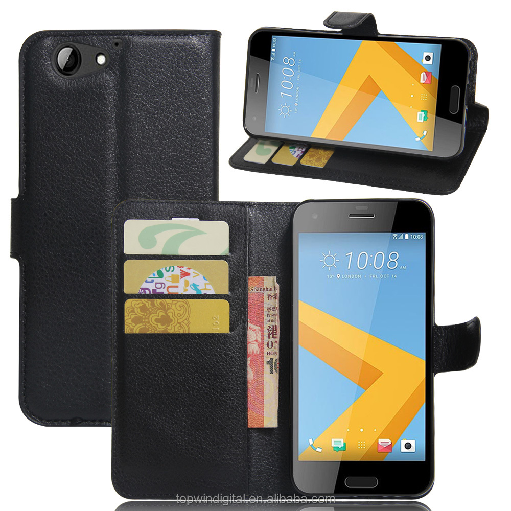 Newest Book Style Stand Wallet Flip PU Leather Cell Phone Case For HTC One A9S With Card Slot