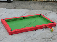 inflatable snooker ball football, inflatable pool table field snooker, inflatable snooker football field