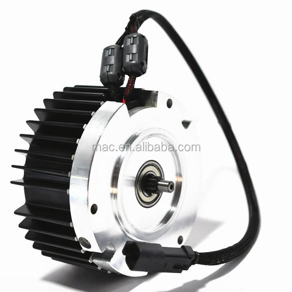 Mac dc motor 24v to 48v 300w with 2000 to 4000rpm electric for Lawn mower electric motor