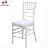 Classic white resin sillas tiffany chair with cushion