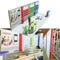 Detian Offer 10x20ft Durable Floor Exhibition Stand for wholesaler