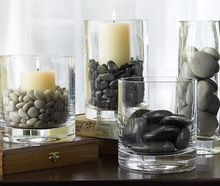 River Pebble Stones Decorative Stones for Vases