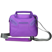 Purple 8.9 ~ 9.7 inch Tablet Sleeve Case Bag Handle and Shoulder Strap For ipad