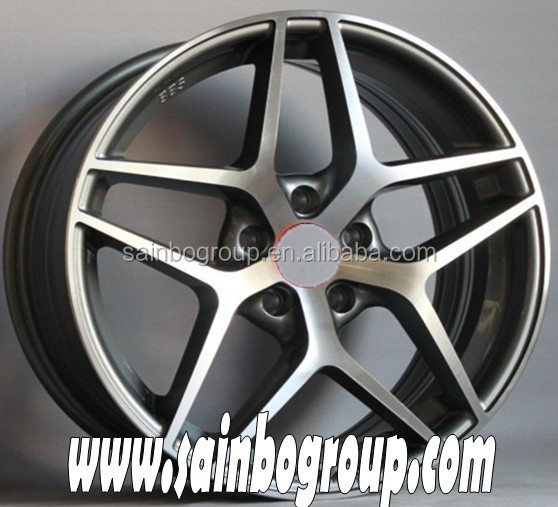 High performance aluminum alloy wheel for car