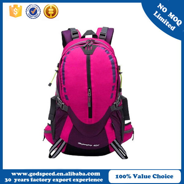 China wholesale high quality fashion hicking sports backpack