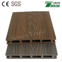 Strong weather resistance no expansion WPC co-extrusion decking