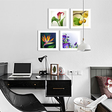 Modern Framed Canvas art oil painting of living room/coffee shop restaurant decorative painting canvas oil painting