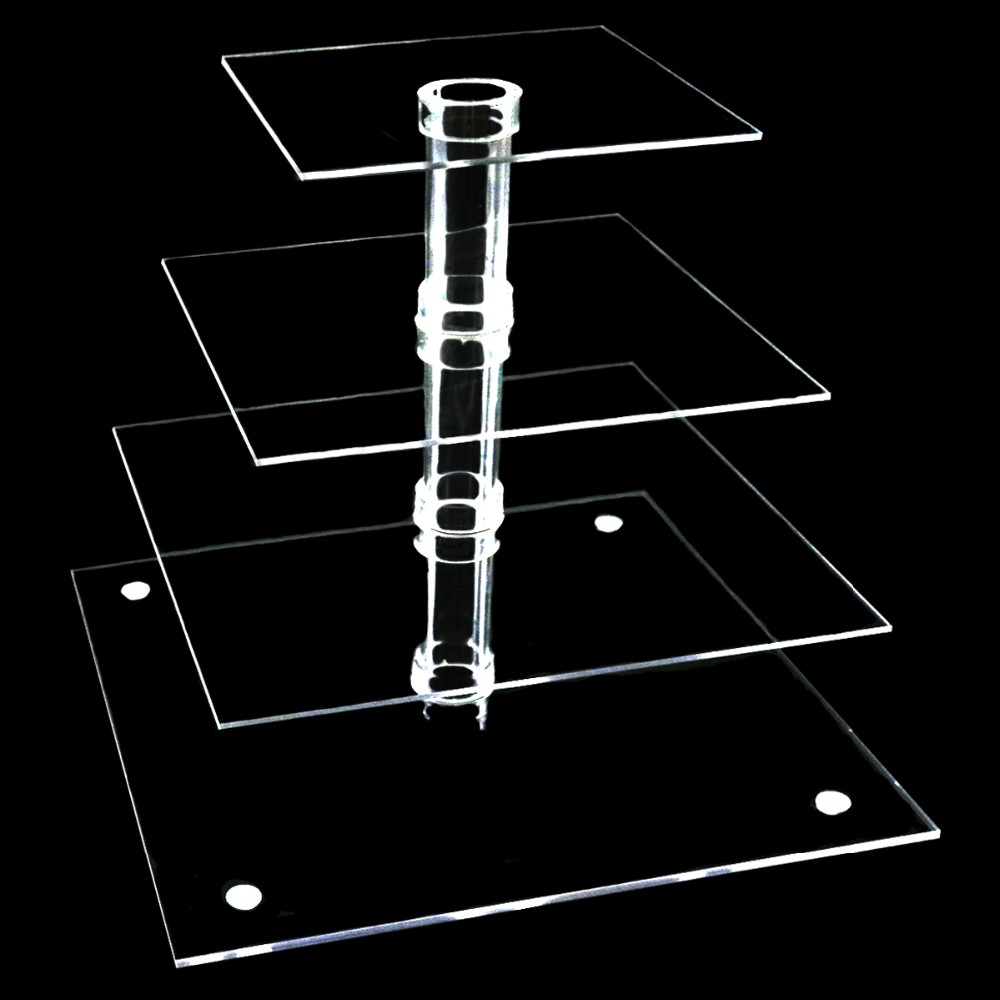 Acrylic Cake Rack Wedding Cake Stand
