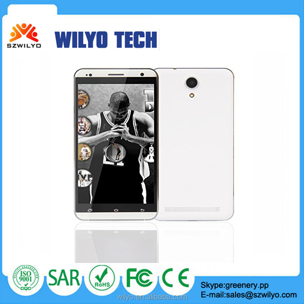 WKV700P Android 3g 8Mp Camera 5.5 inch Oem Smartphone With Curved Glass Screen