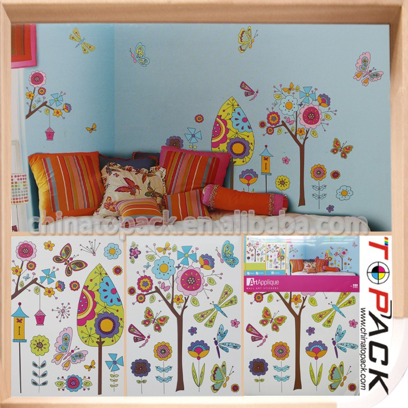 Good quality OEM Design kids room decorative wall stickers for sale