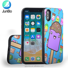 Customer design Cute tpu pc case case for iphone x, combo hybrid cute uv printing case for iphone x 10