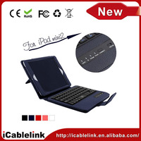 best bluetooth keyboard with leather case for ipad mini 2 bluetooth tastatur / teclado bluetooth