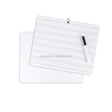 Small Whiteboard Melamine Boards School Supply Custom Size Portable Whiteboard Durable Wipe Board