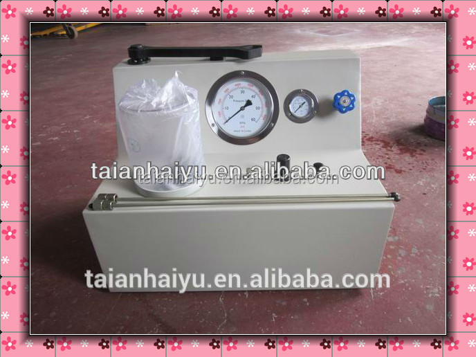 HAIYU best selling PQ400 Double Springs Injector nozzle test bench