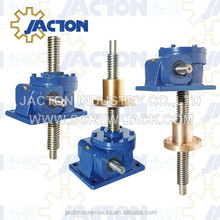 Top Quality 100KN Manual or Auto Vertical Electric Screw Lifting Table Conveyor 10T Worm Gear Jack Tr 50x10