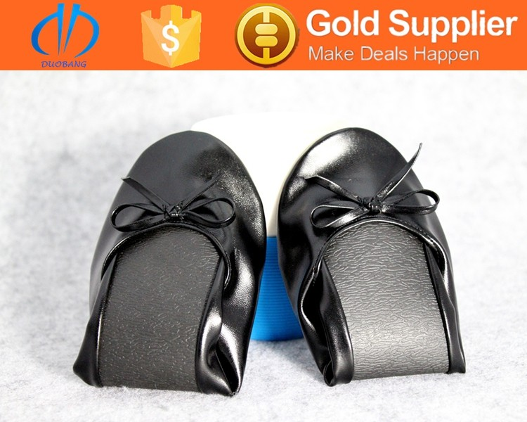 strictly simple foldable ballerina pocket shoes