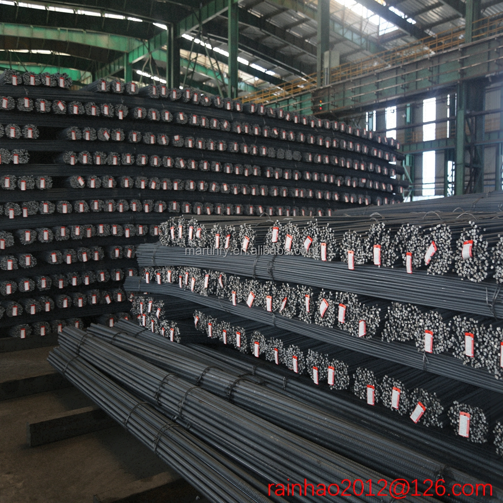 Q235B 2016 Good Quality best price ukraine steel rebar manufacturers in use in bundles