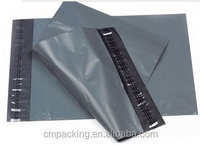 Large custom size grey plastic mail bag for transporting