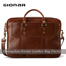 italian leather luxury man tote bags with custom design brown vintage leather totes