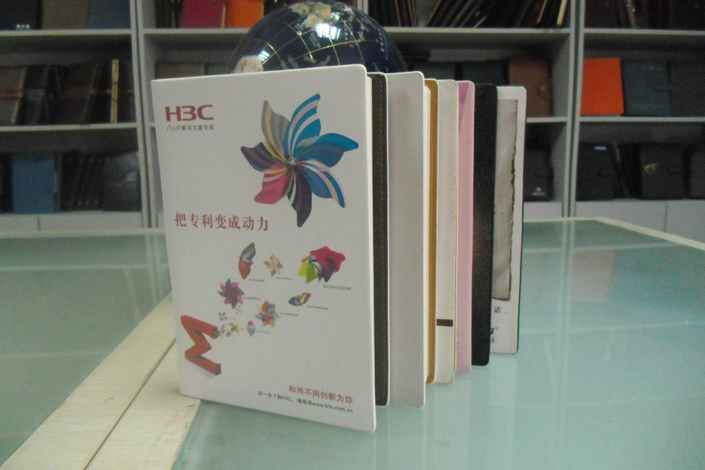 Cheap school supplies stationery / fancy color printing notebook personal custom design diary