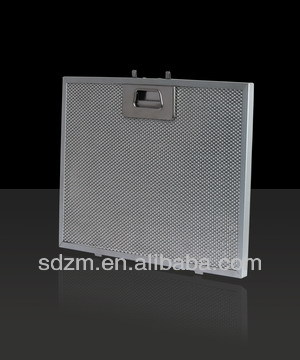 High quality range hood filter with stainless steel latch