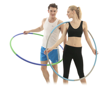 Fitness equipment body building hula hoop ring